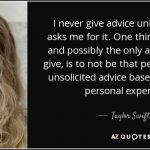 Etiquette Around Giving And Receiving Unsolicited Feedback by Cindy Stradling CSL, CPC